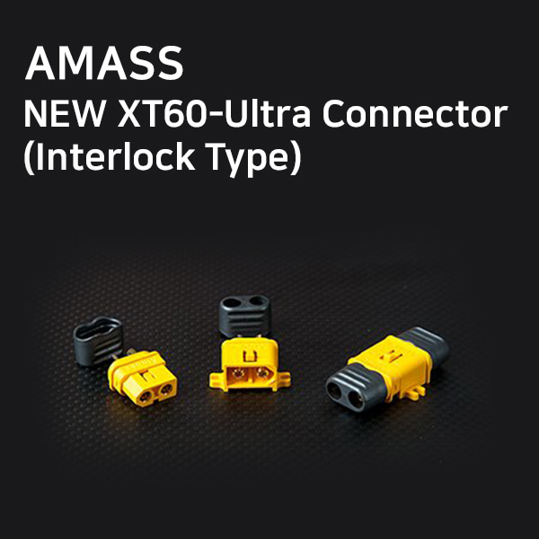 [AMASS] NEW XT60-Ultra Connector(Interlock Type)
